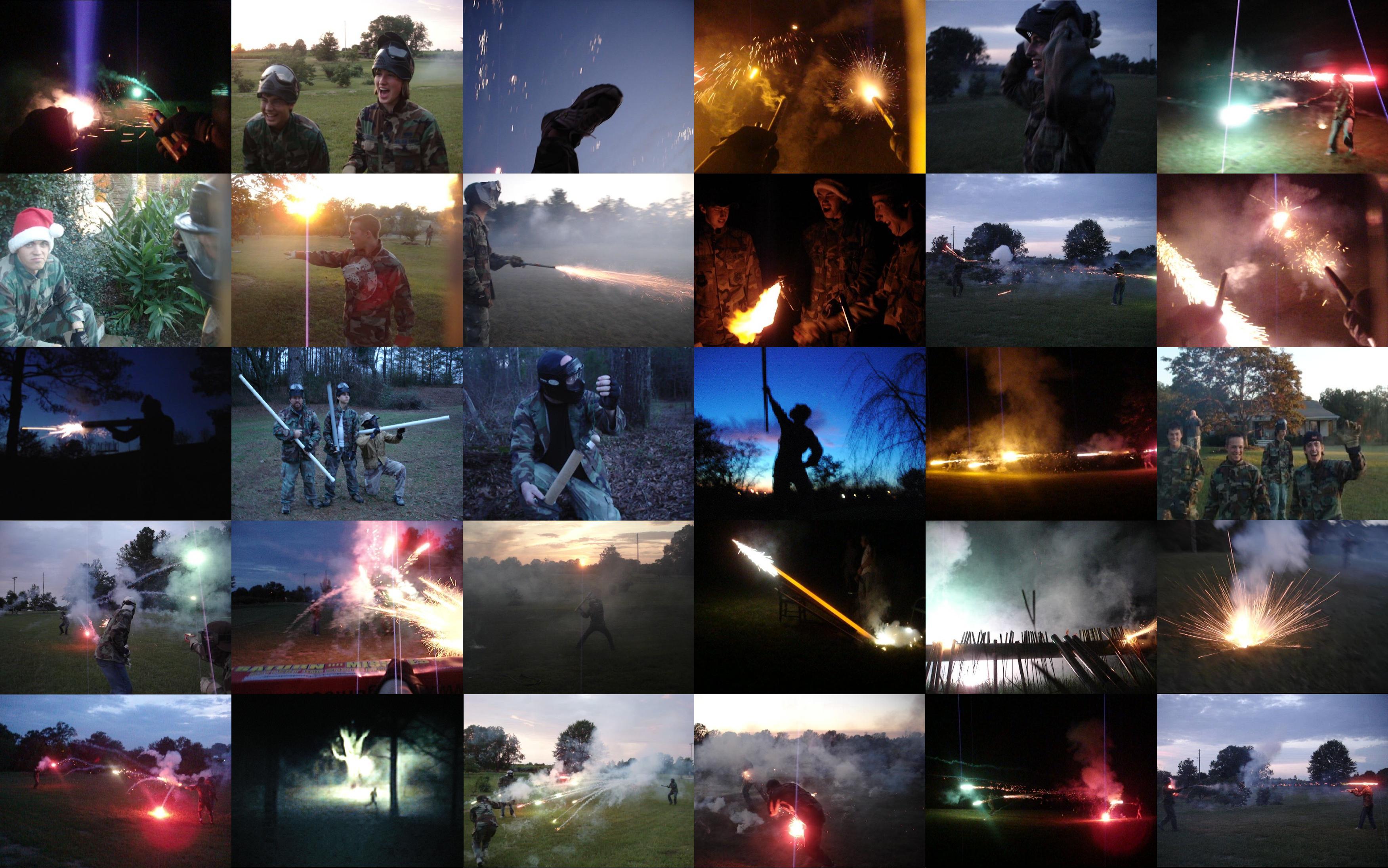 Fireworks War